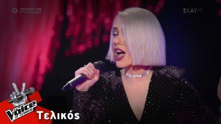 Ιωάννα Γεωργακοπούλου  - It's a Man's Man's Man's World | Τελικός | The Voice of Greece