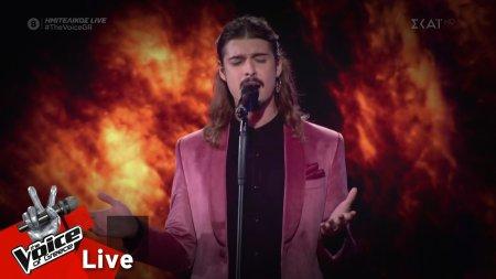 Κωνσταντίνος Κρομμύδας - Caruso | Ημιτελικός | The Voice of Greece
