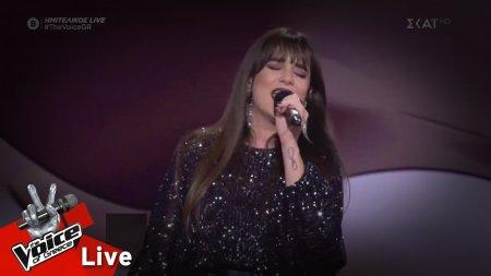 Καλένα Κτίστη - Το χειροκρότημα | Ημιτελικός | The Voice of Greece