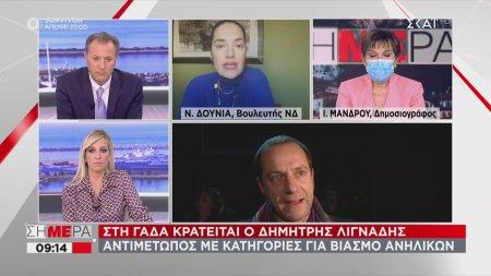 Στη ΓΑΔΑ ο Δ. Λιγνάδης αντιμέτωπος με κατηγορίες για βιασμό ανηλίκων