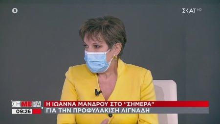 Το σχόλιο της Ιωάννας Μάνδρου για την προφυλάκιση Λιγνάδη