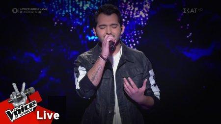 Μάριος Πασιαλής - Θα 'μαι εδώ | Ημιτελικός | The Voice of Greece