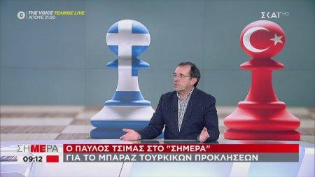 Το σχόλιο του Παύλου Τσίμα για τις συνεχόμενες προκλήσεις της Τουρκίας