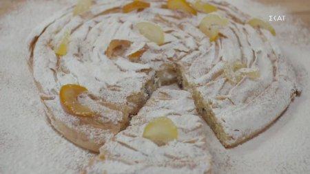 Παραδοσιακό μαροκινό γλυκό με κρέμα αμυγδάλου