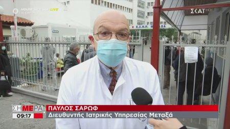 Διευθυντής ιατρικής υπηρεσίας του νοσοκομείου