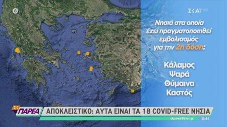 Covid-free ελληνικά νησιά περιμένουν τους ξένους επισκέπτες