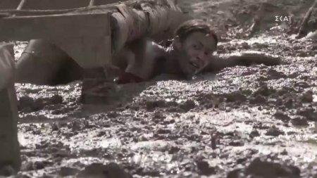 Πανικός έπιασε την Μαριάνθη όταν κώλυσε στην λάσπη