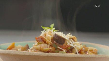 Τορτελίνι με σάλτσα λαχανικών