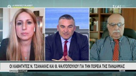 Οι καθηγητές Ν. Τζανάκης και Θ. Ψαλτοπούλου για την πορεία της πανδημίας