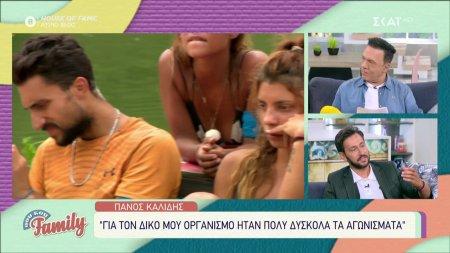 Πάνος Καλίδης: «Για τον δικό μου οργανισμό ήταν πολύ δύσκολα τα αγωνίσματα»
