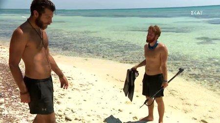 Νίκος και Τζέιμς για το περιστατικό με το ψάρι