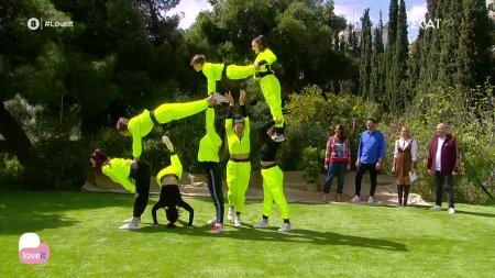 Ακροβατικός χορός: Συνδυάζει γυμναστική και χορό