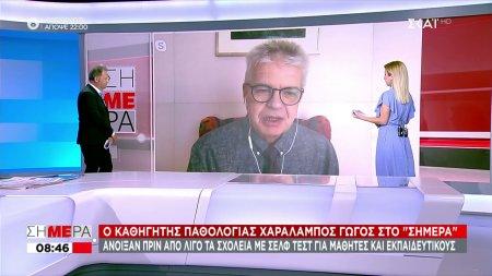 Χ. Γώγος: Φοβόμαστε για εξάπλωση του κορωνοϊού από τα πάρτι