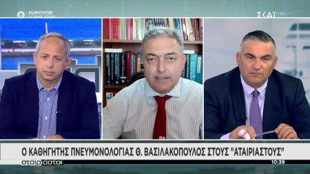Θ. Βασιλακόπουλος: Ανοίγουμε αλλά αυτό δεν σημαίνει ότι εξαφανίστηκε ο ιός
