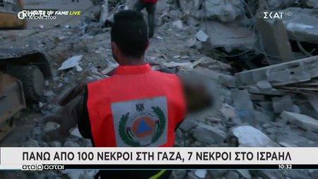 Ρουκέτες από την Χαμάς βομβαρδισμοί από το Ισραήλ