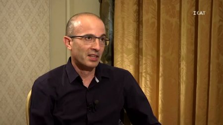 Γιουβάλ Νώε Χαράρι σε ΣΚΑΪ: Η μετά covid εποχή θα είναι η ψηφιοποίηση των πάντων