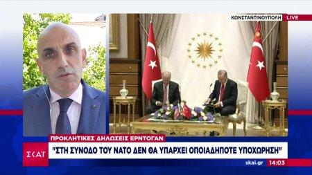 Προκλητικές δηλώσεις Ερντογάν: