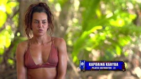 Η Καρολίνα δηλώνει οτι δεν θα ήθελε να την έχει επιλέξει ο Σάκης για να μην του έχει υποχρέωση
