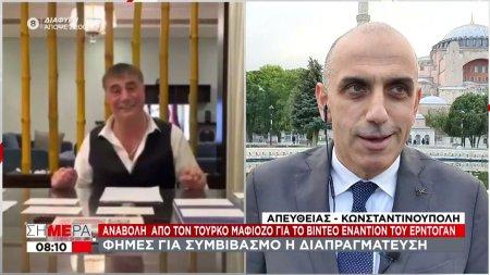 Ο Τούρκος αρχιμαφιόζος δίνει «χάρη» στον Ερντογάν - Οι φήμες ότι «τα βρήκαν»