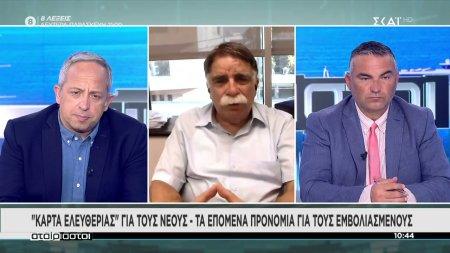 Ο καθηγητής Βατόπουλος για την εξέλιξη της πανδημίας