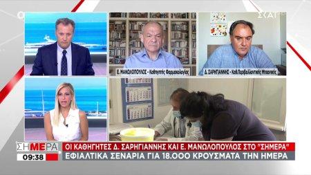 Οι καθηγητές Σ. Σαρηγιάννης και Ε. Μανωλόπουλος στο