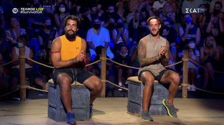 Για πρώτη φορά σε τελικό Survivor η διαφορά μεταξύ των δύο φιναλίστ είναι μικρότερη του 1%