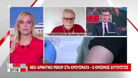 Ο Καθηγητής Δημόσιας Υγείας Τάκης Παναγιωτόπουλος στον ΣΚΑΪ