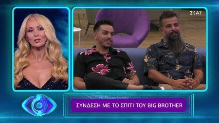 Η πρώτη σύνδεση με το σπίτι του Big Brother   29/08/2021
