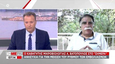 Βατόπουλος-ΣΚΑΪ: Έρχεται το τέλος του κορωνοϊού; Πότε και τι θα σημάνει την λήξη πανδημίας