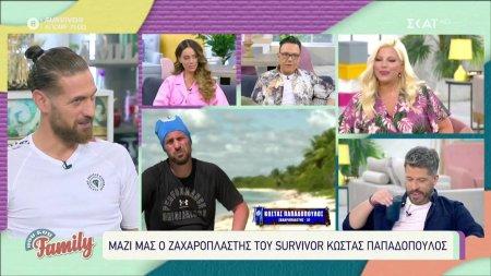 Σχολιάζουμε όσα γίνονται στο Survivor με τον Κώστα Παπαδοπούλου